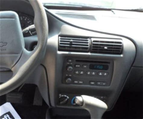 Chevy Cavalier Headunit Audio Radio Wiring Install