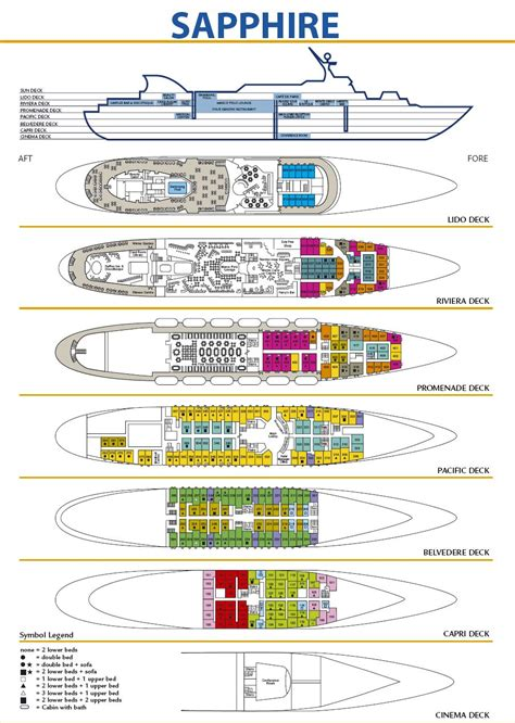 island princess deck plans 2012 mv sapphire ex princesa oceanica sea prince