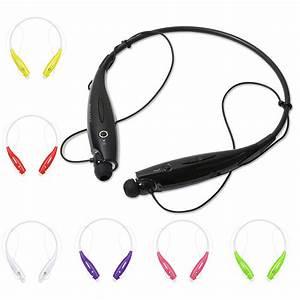 Wireless Bluetooth Headset Stereo Earphone Sport Headphone ...