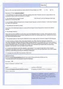 Photo Contact Sheet Template Starting A Court Claim For Sar Non Compliance Page 5