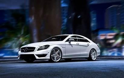 Mercedes Benz Background Wallpapers Cls Wheels Vossen