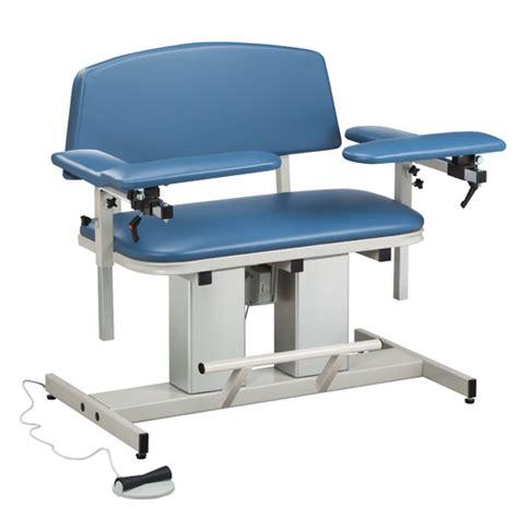 power series bariatric blood drawing chair with padded