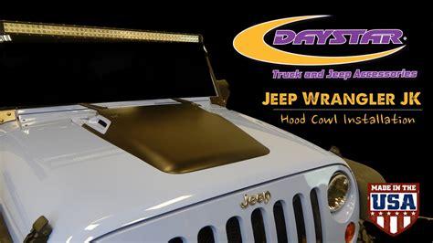 daystar products   jeep wrangler jk hood cowl