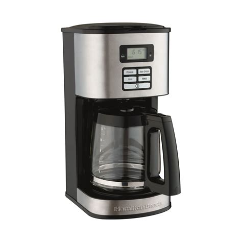 Once you know how to use hamilton brewstation, we are all set to get started. Hamilton Beach 12 Cup Stainless Steel Coffee Maker & Reviews | Wayfair