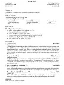 Resumes Templates 3 Tips From The Best Resume Sles Available Businessprocess