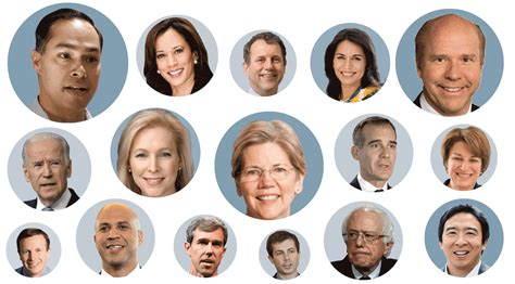 democratic presidential candidates whos running