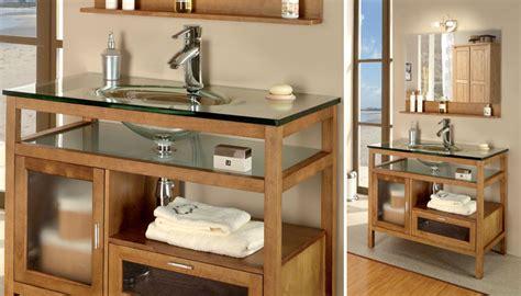 catalogue mobilier de bureau vasque simple en verre