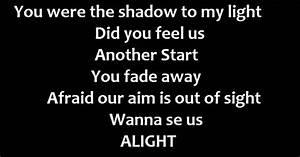 Faded Lyrics