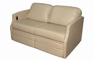 Rv sofa sleepers flexsteel sofa sleepers glastop rv for Used rv sofa bed