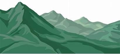 Mountain Mountains Clip Transparent Clipart Ranges Cartoon