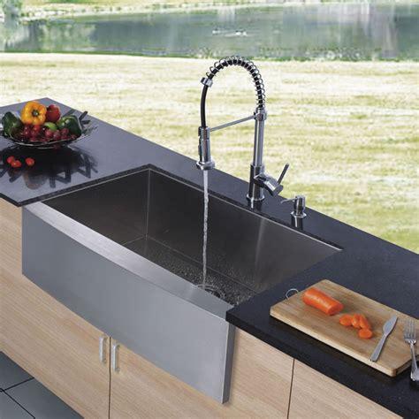 kitchen sink with faucet vigo platinum series farmhouse kitchen sink faucet vg15002 modern kitchen sinks new york