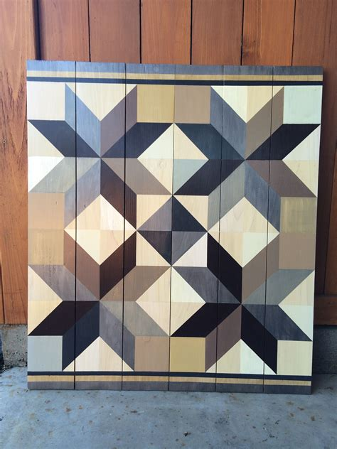 Barn Quilts Patterns Painting by Barn Quilt Painted On Cedar Fence Boards Barn Quilts By
