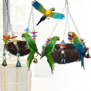 Birds Nest Hammock by Pet Birds Nest Hammock Swing Cockatiel Macaw Parrot