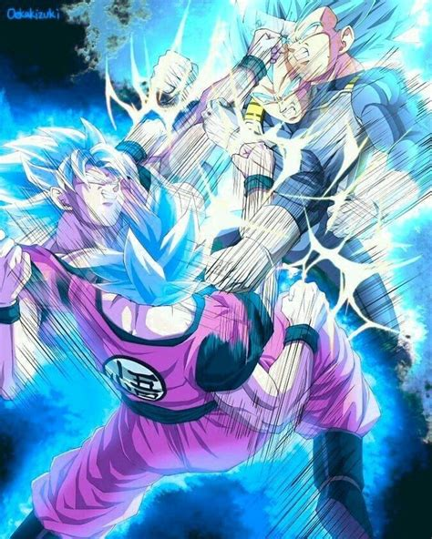 goku super saiyajin blue  vegeta super saiyajin blue