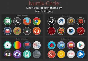 The Numix-Circle Icon Pack Is Unique on Linux