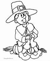 Thanksgiving Coloring Dibujos Dibujo Colorear Ninos Imprimir Pilgrim Boy Colouring Patterns Library Paginas Welding Fiestas Popular Clipart sketch template