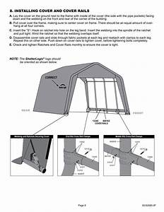 Installing Cover And Cover Rails  Correct  Logo Should Be Oriented As Shown Below