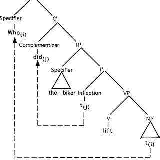 Np Questions by Tree Diagram Illustrating Wh Movement In Who Questions