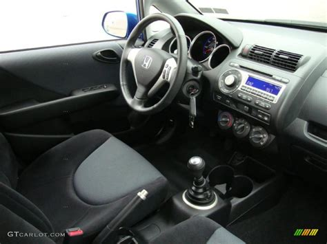 Maybe you would like to learn more about one of these? Black/Grey Interior 2008 Honda Fit Sport Photo #38717743 ...