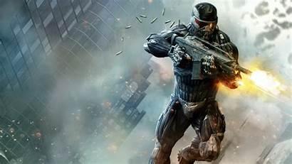 Shooting Desktop Games Guns Crysis Gun Hnx