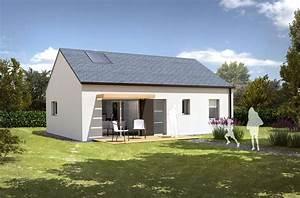 modele de maison brouel t3 pour construction neuve With lovely type de toiture maison 1 constructeur de maison maisons vivre plus constructeur