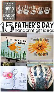 Father's Day Handprint Gift Ideas from Kids - Crafty Morning