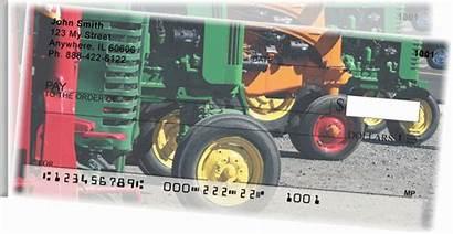 Checks Tractors Personal Tear Side