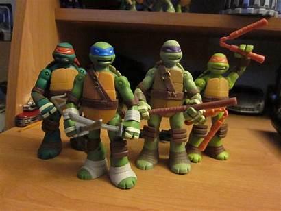 Tmnt Shell Battle Figures Turtles Ninja Mutant