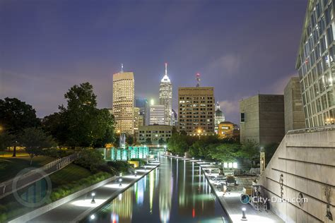 City Indiana by Downtown Of Indianapolis City