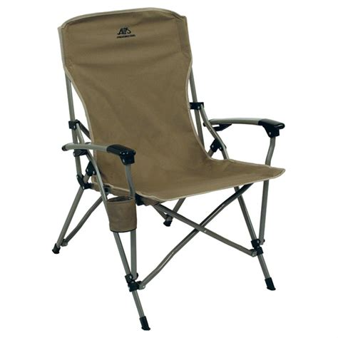alps mountaineering leisure chair khaki alps 174 khaki leisure chair 227978 chairs at sportsman s