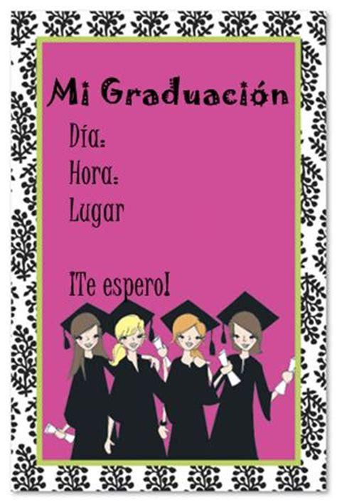 invitaciones de graduacion para llenar by de tarjetas de invitaci 243 n para graduaci