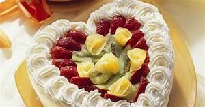 Torte Mit Früchten : sahne herztorte mit fr chten rezept eat smarter ~ Lizthompson.info Haus und Dekorationen