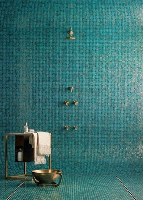 Blue Mosaic Tiles Bathroom by 40 Blue Glass Mosaic Bathroom Tiles Tile Ideas And Pictures