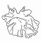 Leaf Lettuce Coloring Pages Leaves Printable Sheet Counting sketch template