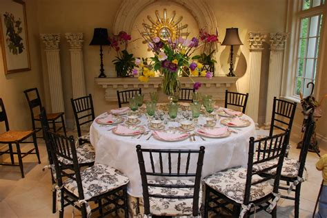 Lovely Table Decorating Ideas For The Upcoming Easter