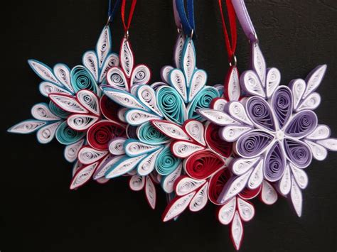 quilled christmas ornament patterns 25 b 228 sta id 233 erna om papperskonst p 229