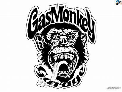 Monkey Gas Garage Logos Wallpapersafari