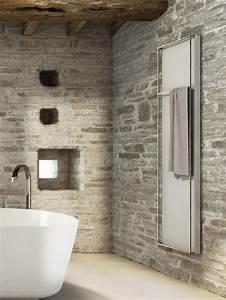 Pierre Et Sol : salle de bain pierre et bois une beaut naturelle ~ Melissatoandfro.com Idées de Décoration