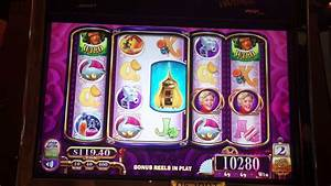 Willy Wonka Slot Machine Bonus - Grandpa Free Spins - YouTube