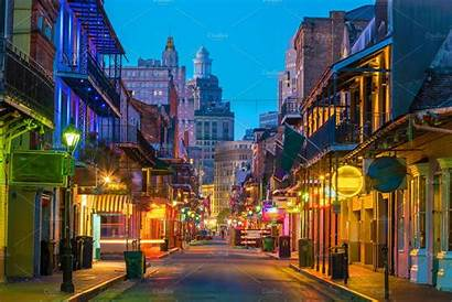 French Orleans Quarter