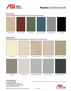 Asi phenolic color selection guide asi global partitions for Asi construction documents