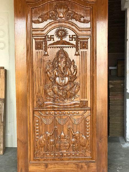teak wood god carved door buy teak wood god carved door   price  inr   pieces
