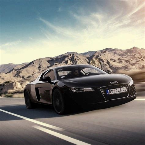 Audi R8 Black Hd Wallpaper 1080p