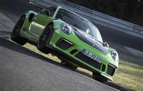 porsche  gt rs sets  nuerburgring lap time