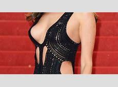Whoops! Model Irina Shayk narrowly avoided an embarrassing
