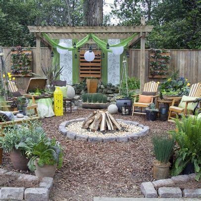 Cheap Backyard Ideas For by How To Create A Garden On A Low Budget Pit