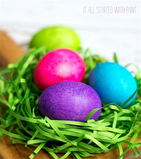color easter eggs dye easter eggs with rice food coloring it all started