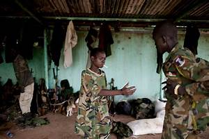 Child Soldiers Still Being Used In South Sudan  Un Says