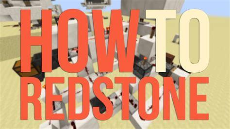 Minecraft How Create Redstone Invention Basic