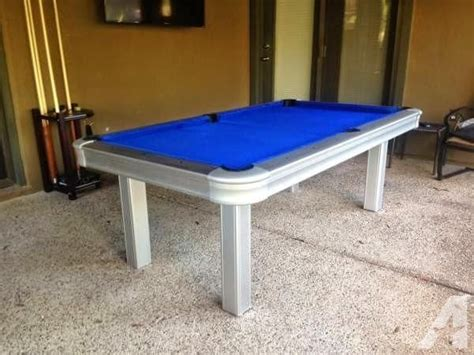 outdoor pool table for sale brand new outdoor pool table with all weather cloth